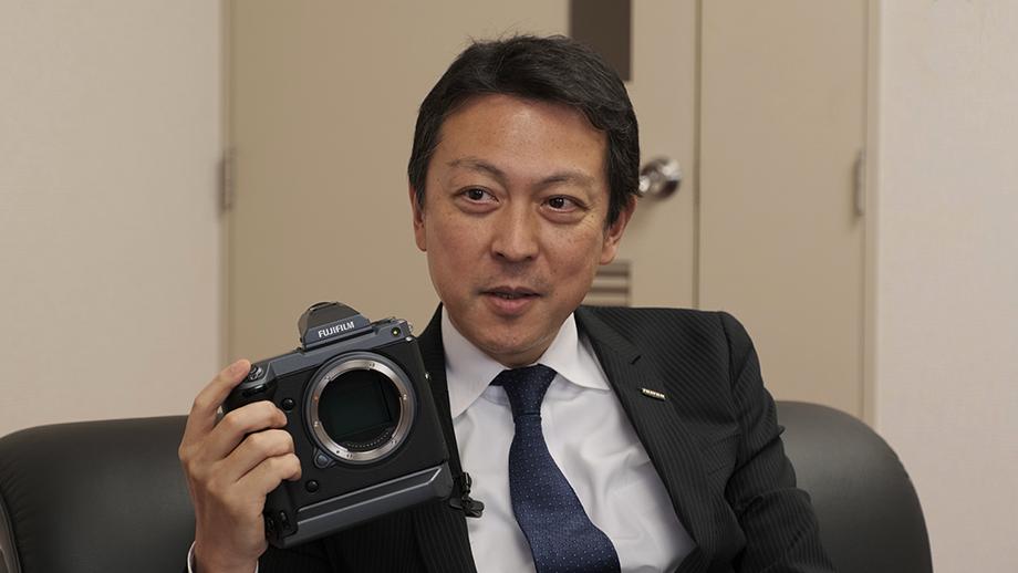 Интервью генерального директора Fujifilm Тоши Иида
