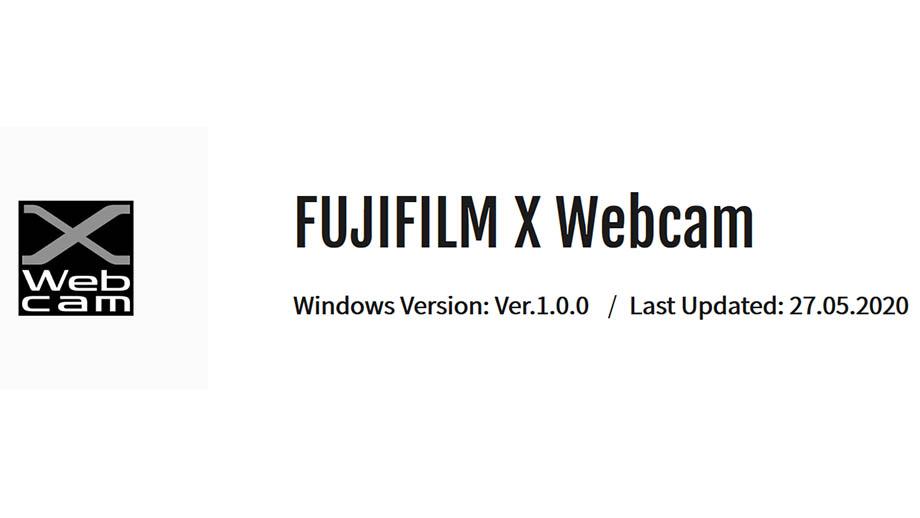 Программа Fujifilm X Webcam для камер серии Fuji X