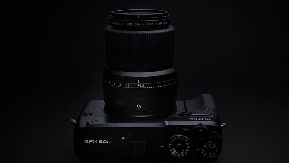 Анонс объектива Fujinon GF30mmF3.5 R WR