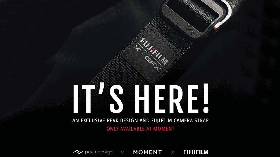 Fujifilm и Peak Design выпустят ограниченную серию аксессуаров