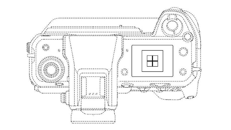 Патент Fujifilm на функцию Spirit Level для верхнего дисплея камер GFX100 и X-H2?