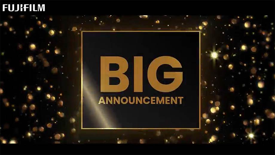Fujifilm выпустила тизер: «Скоро будет большой анонс»