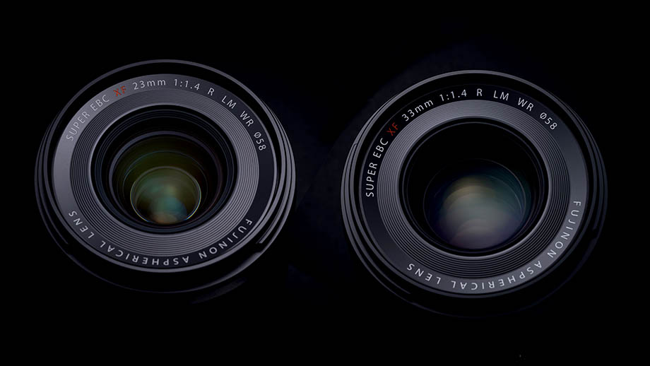 Fujinon XF 23mm F1.4 R LM WR и XF 33mm F1.4 R LM WR официально представлены
