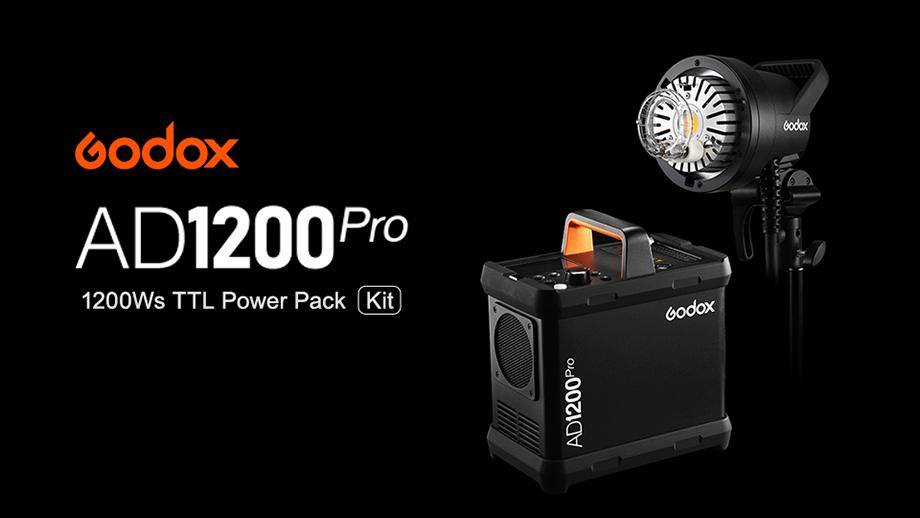Godox AD1200 Pro: мощная вспышка + блок питания