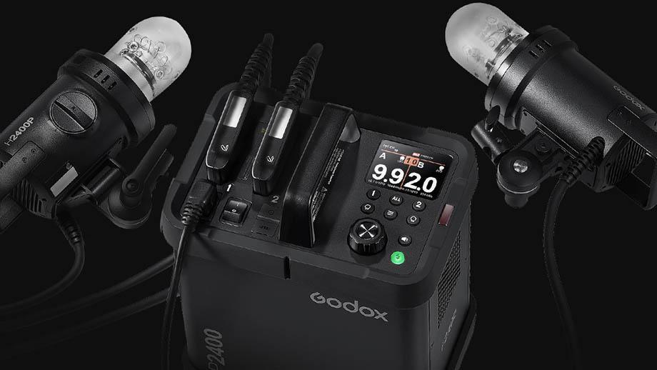 Анонсирован студийный световой комплект Godox P2400