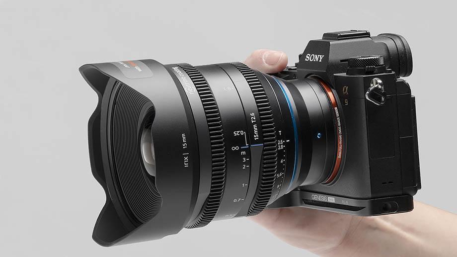 Irix представил новый 15mm Т2.6 кинобъектив