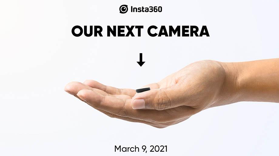 Insta360 показала тизер новой камеры