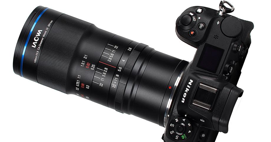 Объектив Laowa 100mm f/2.8 2x Ultra Macro APO для байонетов Nikon Z и Canon RF