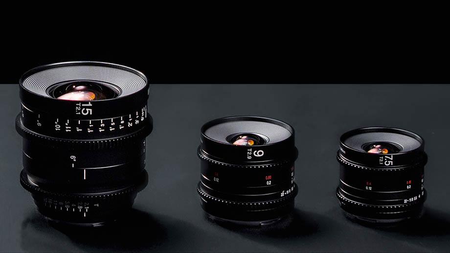 Venus Optics представила три новых кинообъектива Laowa 7.5mm Т2.1, 9mm Т2.9 и 15mm Т2.1