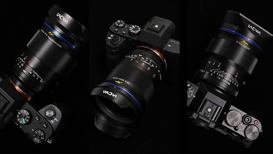 Характеристики новых объективов Laowa: 33mm f/0.95, 35mm f/0.95, 45mm f/0.95 и 12-24mm f/5.6