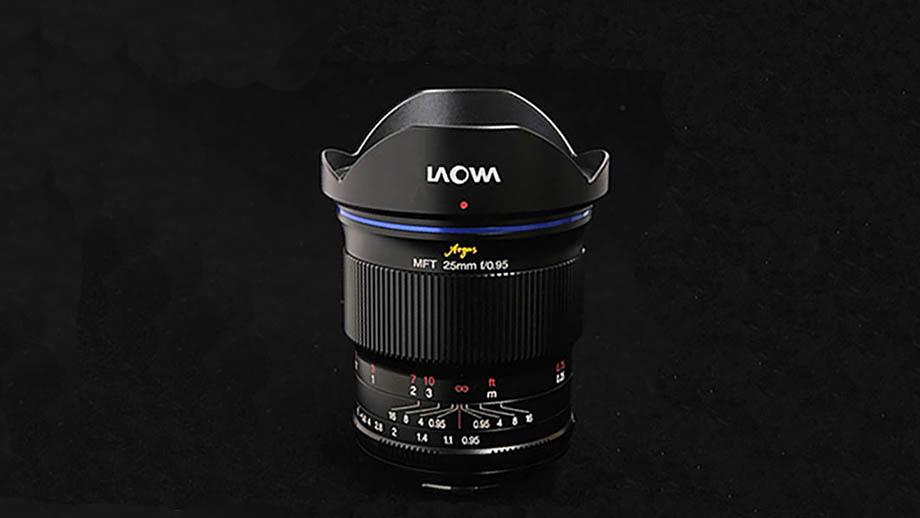Представлен новый объектив Laowa 25mm f/0.95 MFT