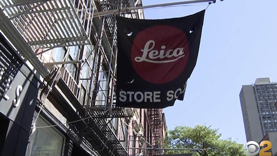 Leica пострадала от беспорядков в Нью-Йорке