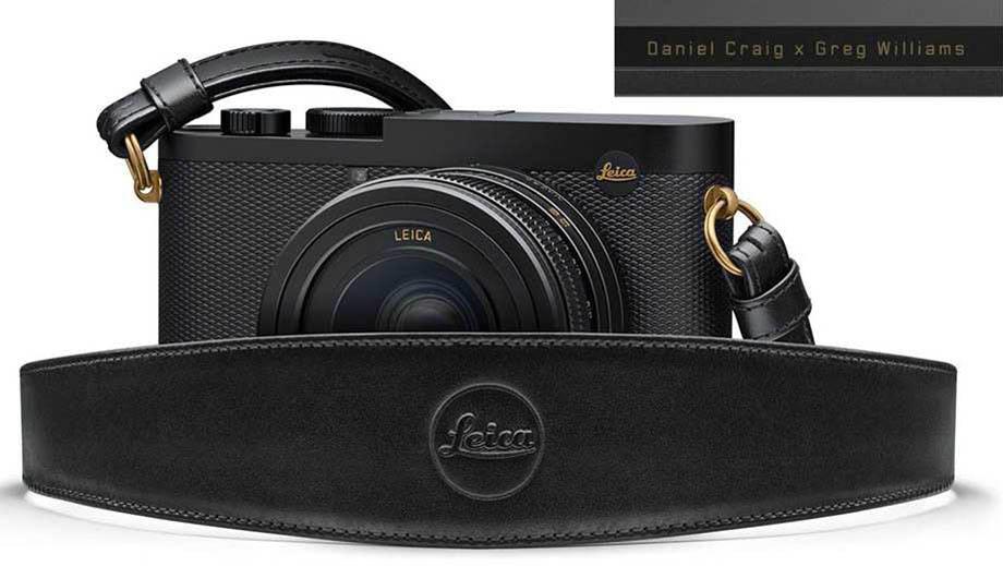 Фотографии лимитированной камеры Leica Q2 Daniel Craig x Greg Williams