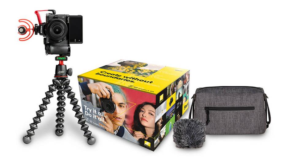 Nikon выпустил комплект с Z50 для блогеров за $1150