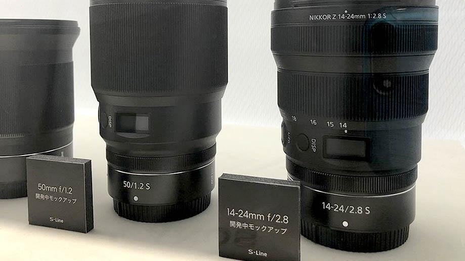 Новые объективы Nikkor Z представят вместе с Nikon Z5: 24-50mm f/4-6.3, 50mm f/1.2, 14-24mm f/2.8