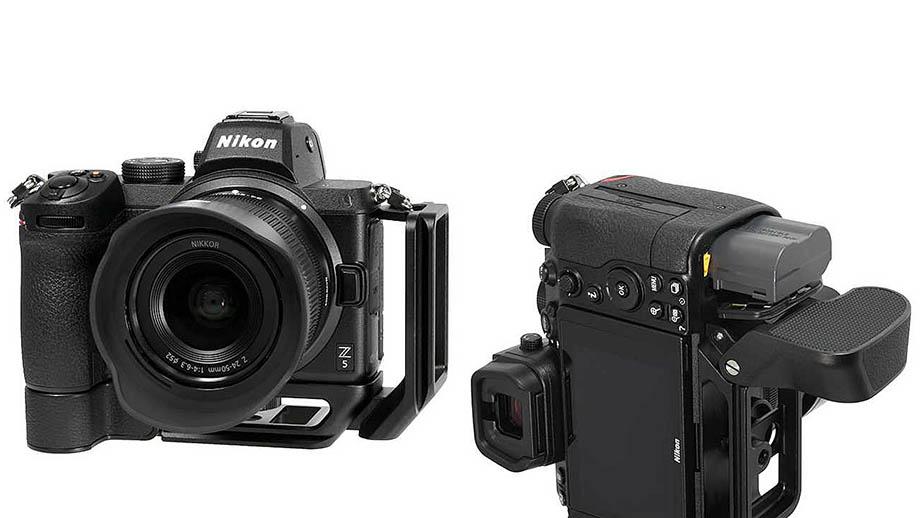 В Японии поступили в продажу рукоятка Z-GR1 и кронштейн Z-VP1 для Nikon Z5