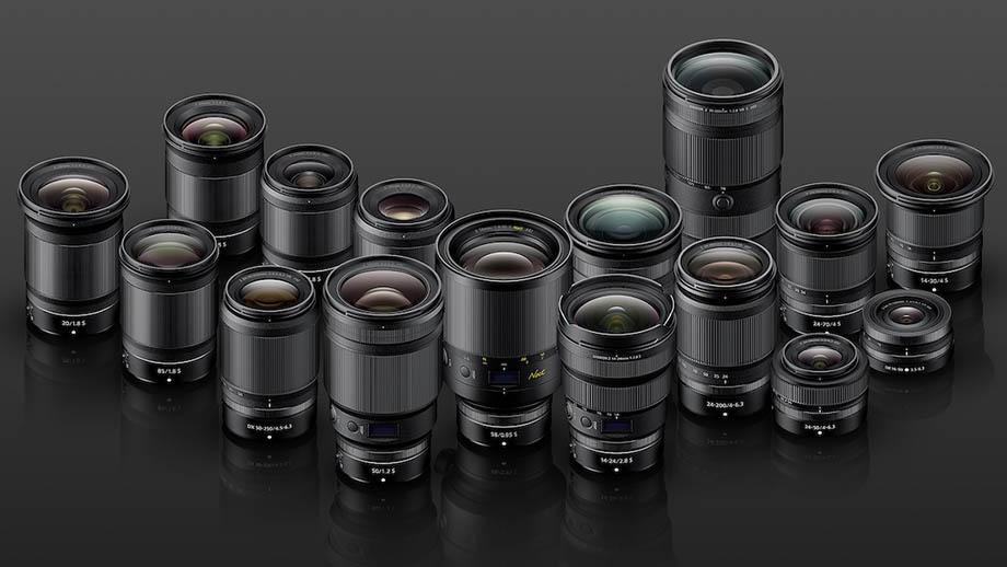Обновленная дорожная карта объективов Nikon Nikkor Z