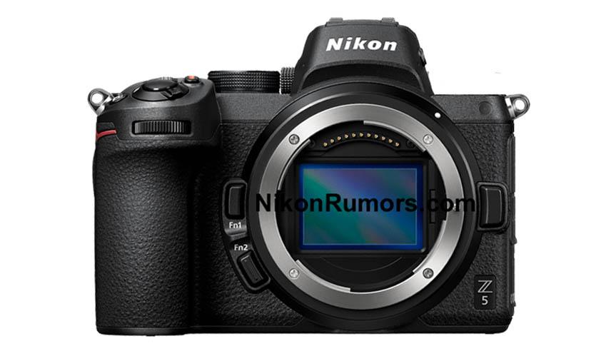 Изображения Nikon Z5 и обновленные характеристики