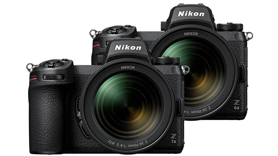 Nikon представляет полнокадровые беззеркальные камеры нового поколения Nikon Z6II и Z7II