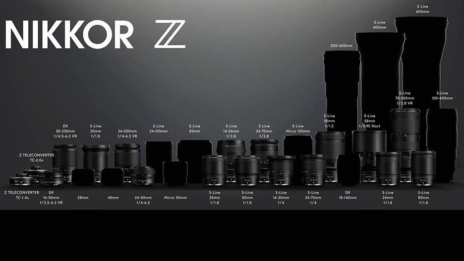 C ближайший год представят как минимум 12 новых объективов Nikkor