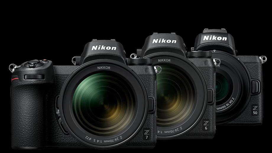 Выпущены обновления для Nikon Z 6, Z 7 и Z 50