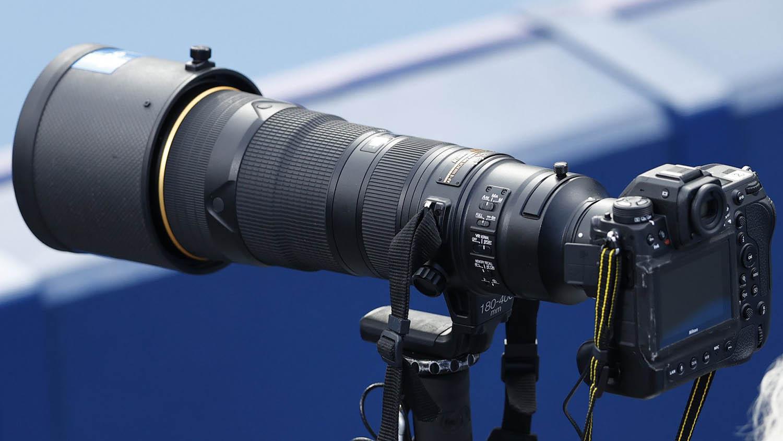Nikon Z 9 замечена на Олимпиаде в Токио