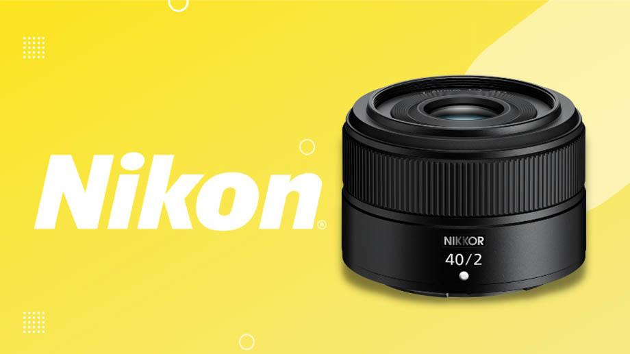 Nikon представила NIKKOR Z 40mm F2