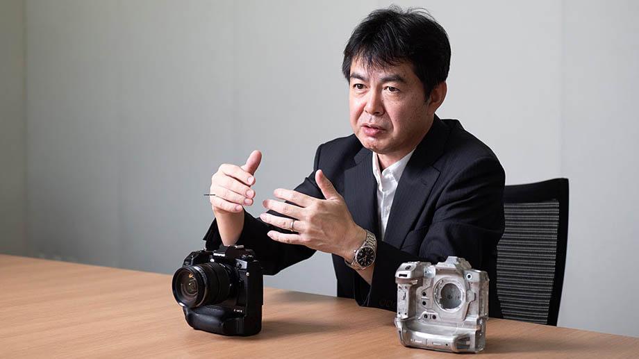 Интервью с директором Olympus Масами Такасе