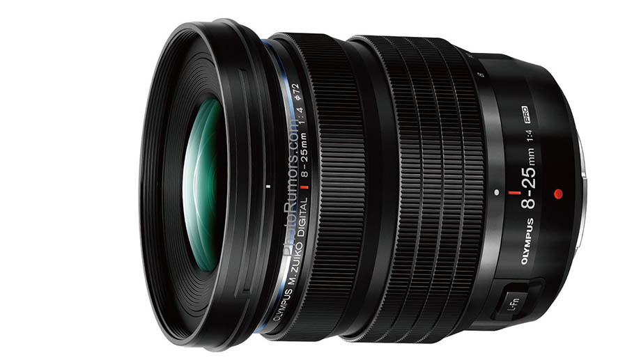 Фотографии и спецификации Olympus M.ZUIKO DIGITAL ED 8-25mm f4 PRO