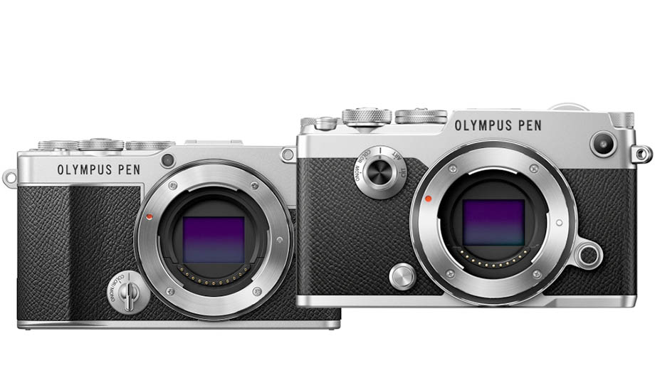 Photosku: сравнение Olympus PEN E-P7 и PEN-F