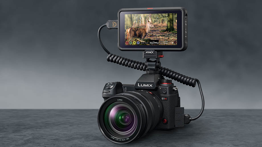 Panasonic Lumix S1H получит съёмку RAW-видео на рекордер Atomos Ninja V