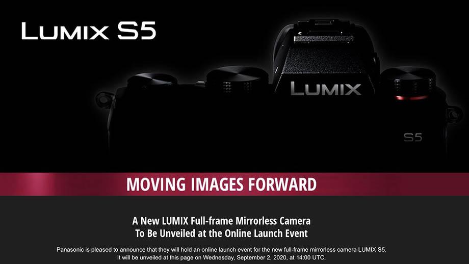 Стали известны цена и дата анонса Panasonic Lumix S5