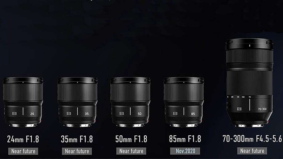 Panasonic добавил в дорожную карту пять объективов под L-mount