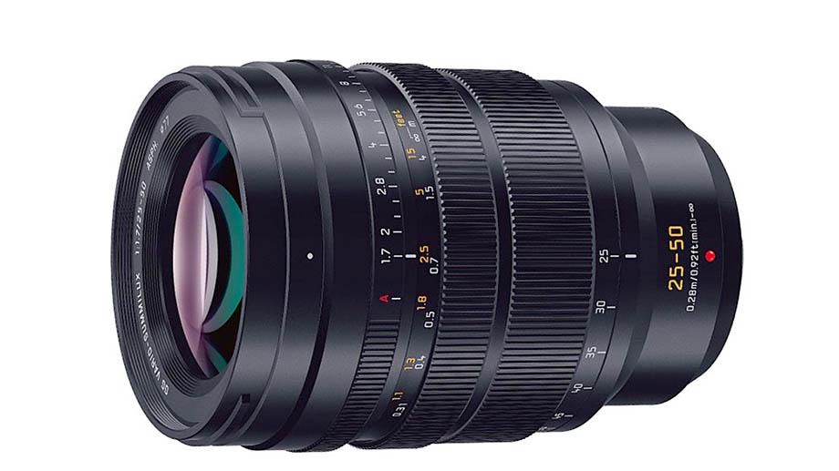 Panasonic скоро представит объектив Leica DG Vario Summilux 25-50mm F1.7 ASPH