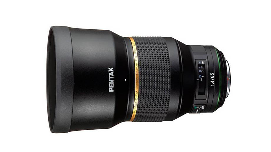 Новый HD PENTAX-D FA ★ 85mmF1.4 SDM AW: