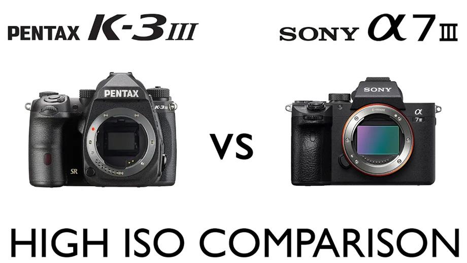 Pentax K-3 III vs Sony a7 III. Съемка на высоких ISO