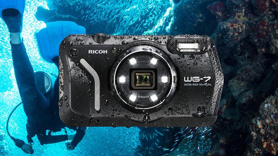Представлена Ricoh WG-7, новая водонепроницаемая камера