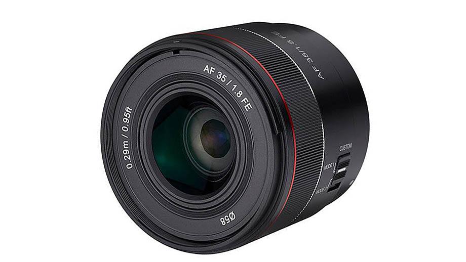 Изображения нового Samyang AF 35mm f/1.8 FE