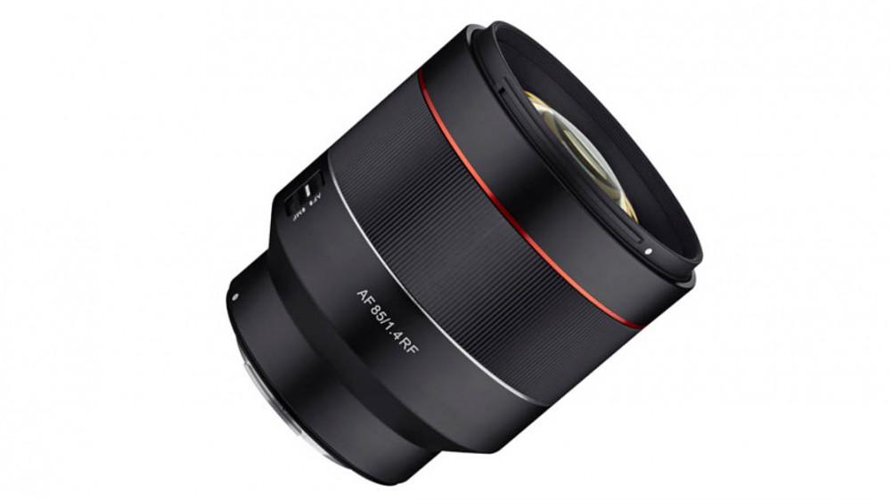 Автофокусный объектив Samyang 85mm f/1.4 для Canon RF