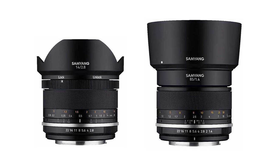 О новых объективах Samyang MF 14mm F/2.8 UMC II и Samyang MF 85mm F/1.4 UMC II