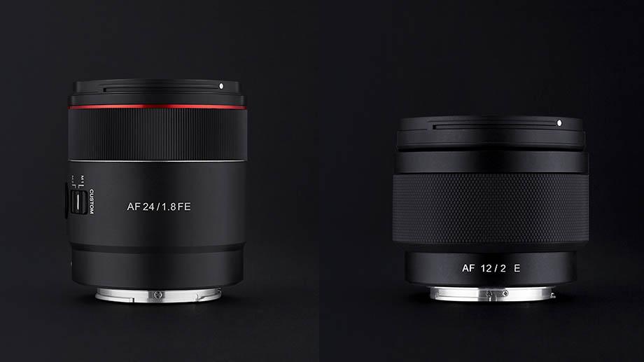 В ближайшее время официально представят Samyang 24mm F1.8 и 12mm F2 для камер Sony