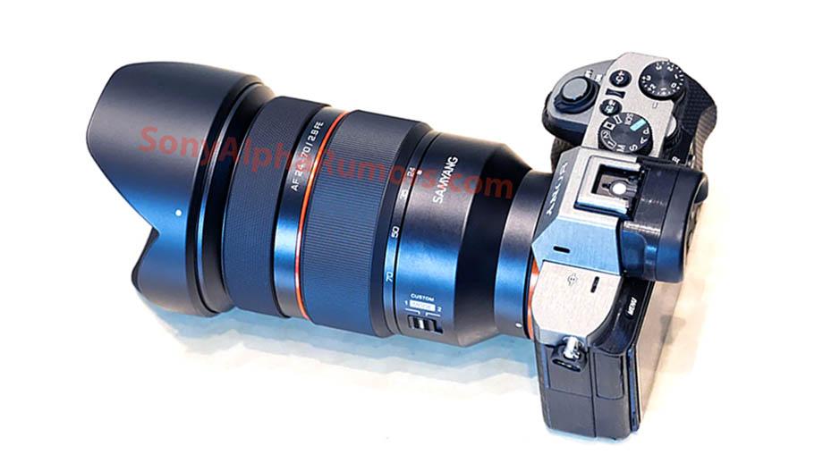 Samyang представит 24-70mm F2.8 FE с автофокусом
