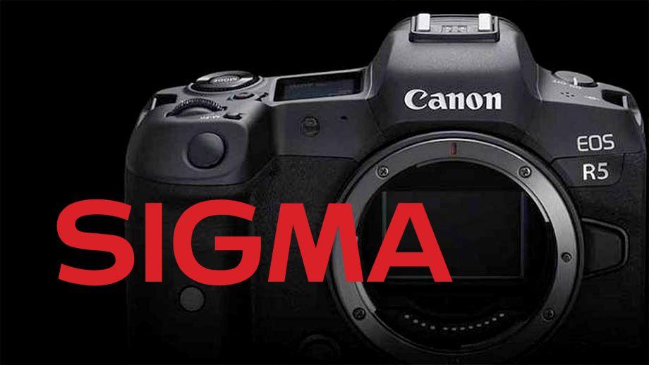 Sigma готовится анонсировать разработку оптики для Canon RF?