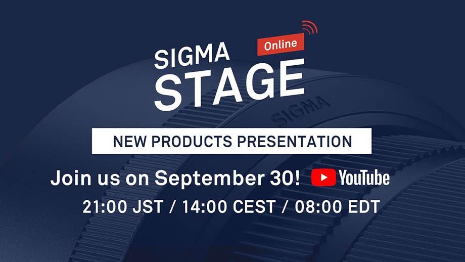 Sigma представит новинки 30 сентября