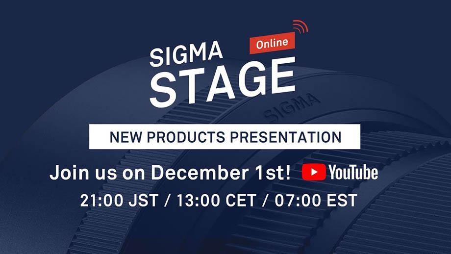 Компания Sigma презентует 1 декабря новую серию оптики