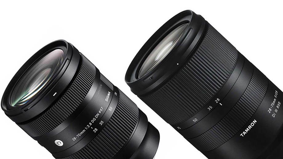 Сравнение объективов Sigma 28-70mm F2.8 и Tamron 28-75mm F2.8 для Sony E