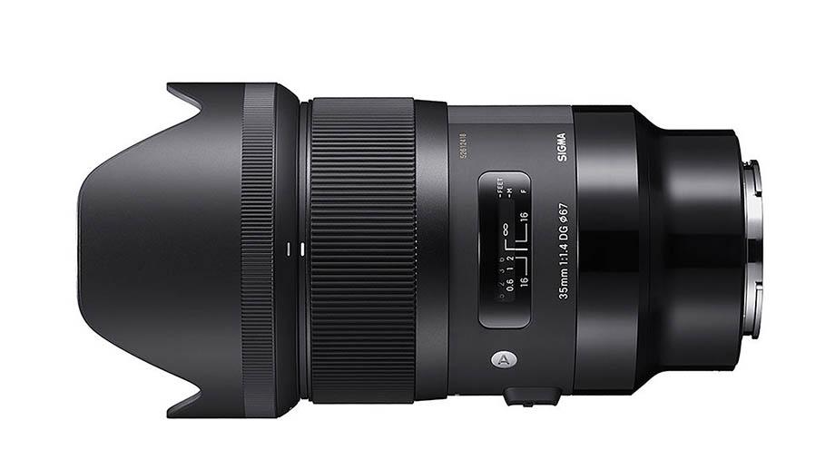 Новый Sigma 35mm f/1.4 DG DN Art для байонетов E и Lпредставят в ближайшее время