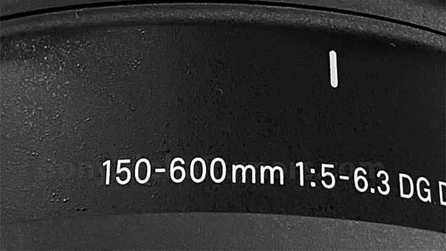 Первое изображение нового объектива Sigma 150-600mm FE