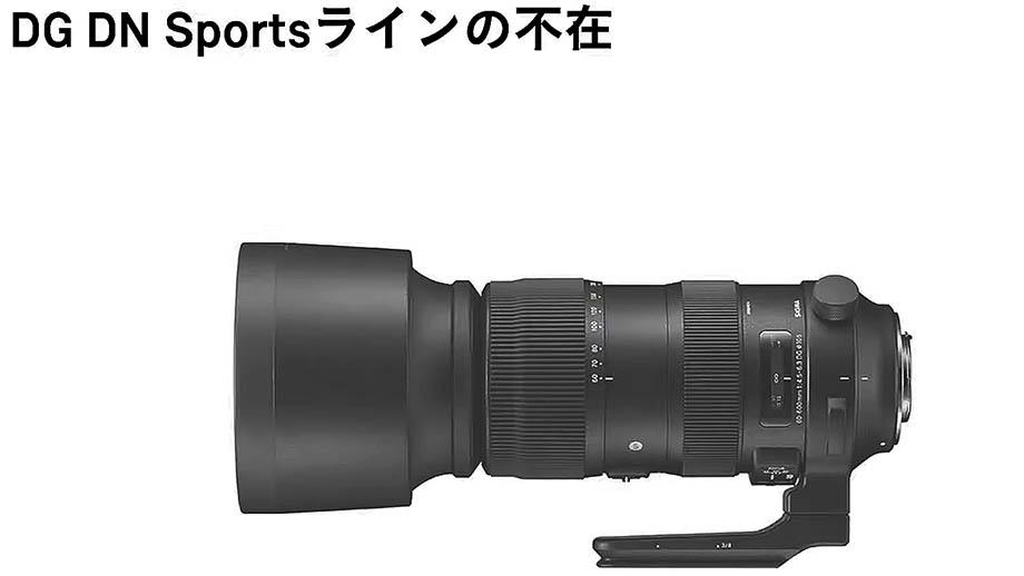 Sigma 70-200mm f/2.8 DG DN Sports будет представлен в скором будущем
