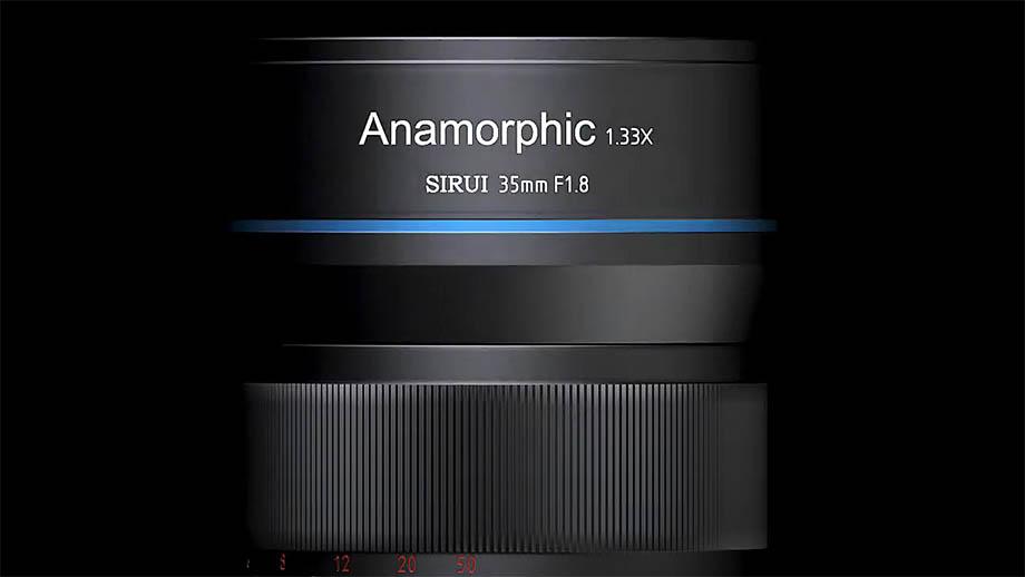 Объектив Sirui 35mm f/1.8 1.33x Anamorphic появится на Indiegogo в августе